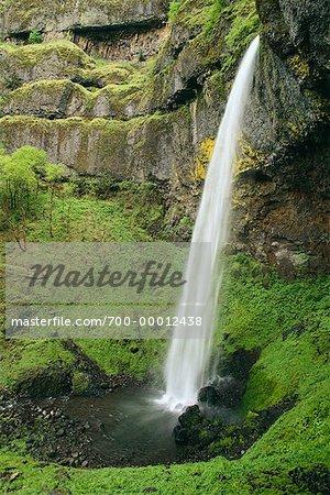 Elowah Falls Columbia River Gorge Oregon, USA