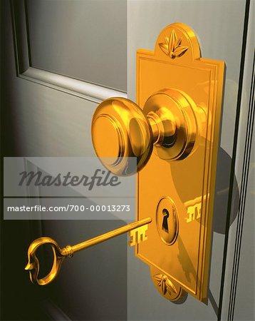 Skeleton Key and Door