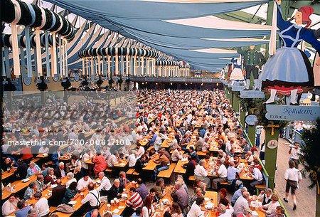 Oktoberfest, Spatenbrau Hall Munich, Germany