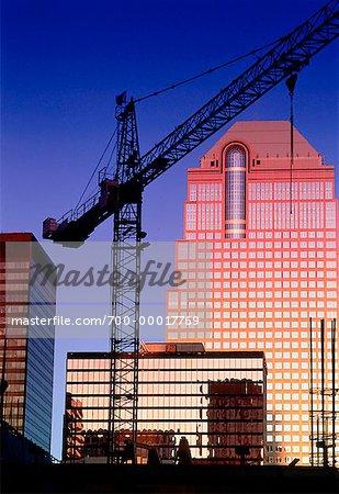 Construction Crane Calgary, Alberta, Canada