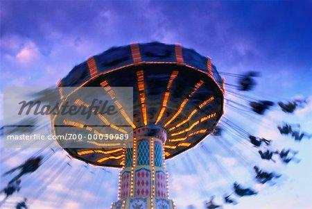 Amusement Park Ride Canadian National Exhibition Toronto, Ontario, Canada