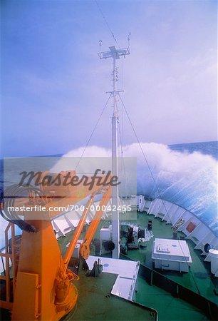 Ship and Waves, Drake Passage South Atlantic Ocean