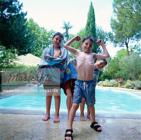 Children at Poolside