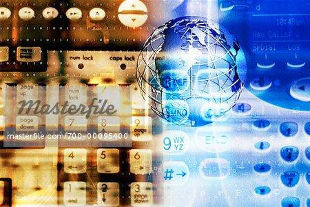 Keyboard and Globe