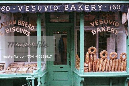 Bakery Window New York, New York, USA