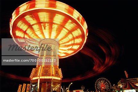 Aerial Swing Ride, Canadian National Exhibition, Toronto, Ontario, Canada