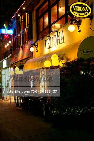 Restaurants on King Street Toronto, Ontario, Canada