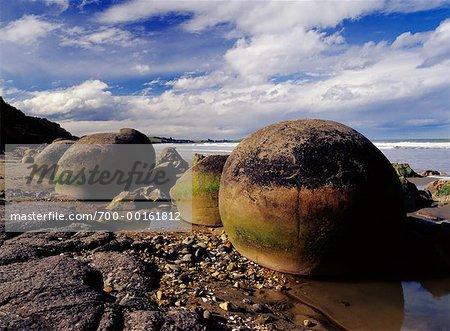 Moeraki Boulders Otago, New Zealand