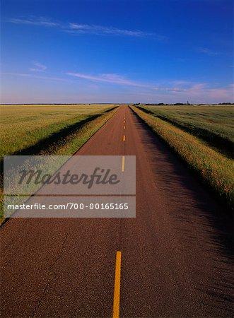 Country Road Nesbitt, Manitoba