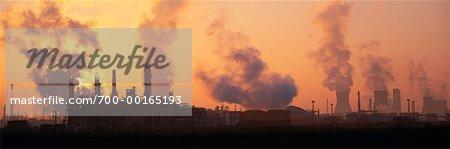 Oil Refinery, Scotland