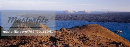 Volcano Craters Isla Bartolome, Galapagos Islands Ecuador
