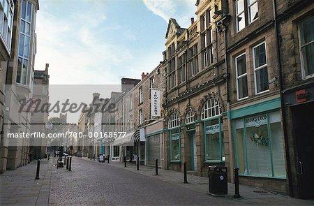 Cobblestone Street Lancaster, England