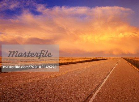 Prairie Road Alberta, Canada