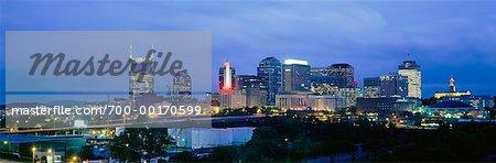 Skyline at Dusk Nashville, Tennessee