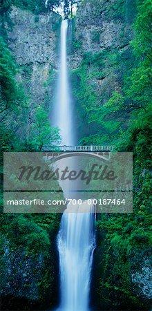 Multnomah Falls Columbia River Gorge Oregon, USA