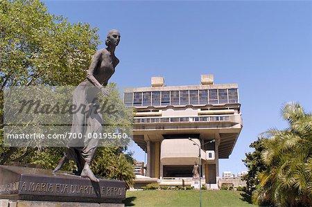 National Library and Eva Duarte de Peron Monument Buenos Aires, Argentina
