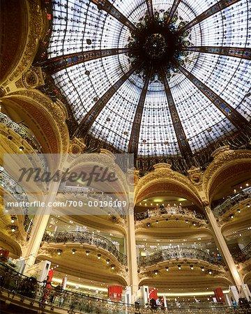Galleries Lafayette Paris, France