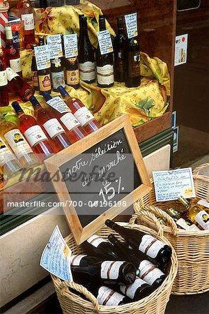 Wine Bottles Paris, France