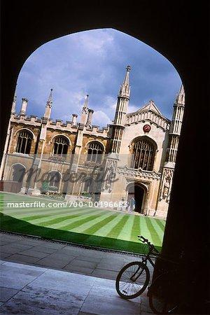 Corpus Christi College Grounds Cambridge, England