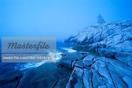 Cape Anguille Lighthouse Newfoundland, Canada