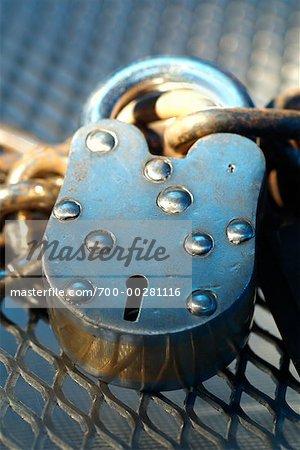 Close-Up of a Lock