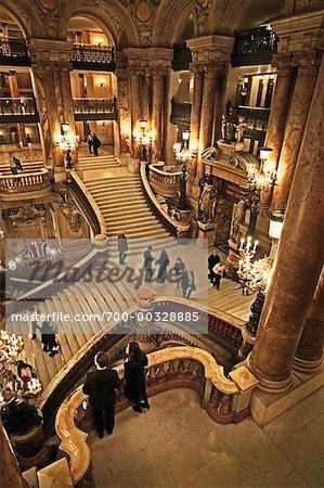 Foyer of Garnier Opera House Paris, France