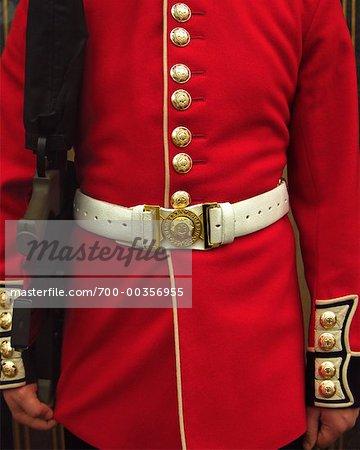 Close-up of Royal Guard