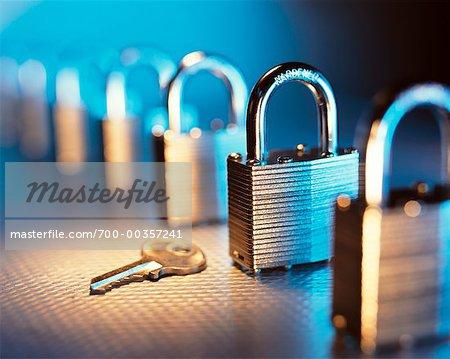 Key and Row of Locks