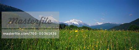 Watzmann Mountain Bavaria, Germany