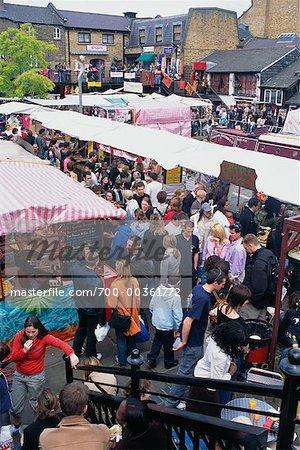 Crowd at Market