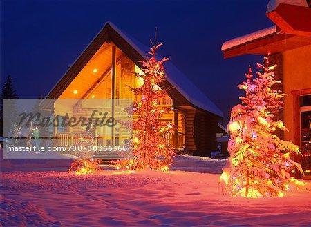 Log Cabin Christmas.700 00366360