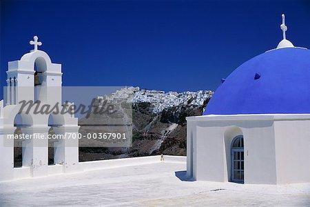 Church of Firostefani Santorini, Greece