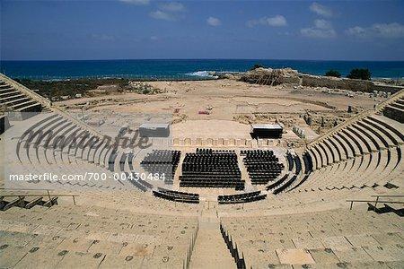 Caesarea's Roman Theater Caesarea, Isreal
