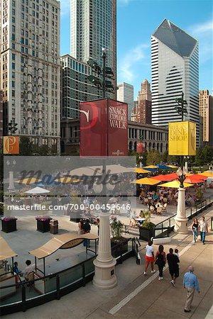 McCormick Tribune Plaza, Millennium Park, Chicago, Illinois, USA