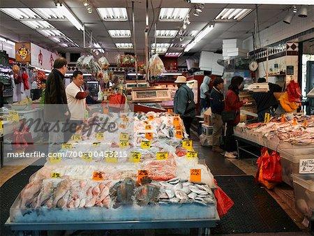 Market In Chinatown New York New York Usa Stock Photo Masterfile Rights Managed Artist David Zimmerman Code 700 00453215