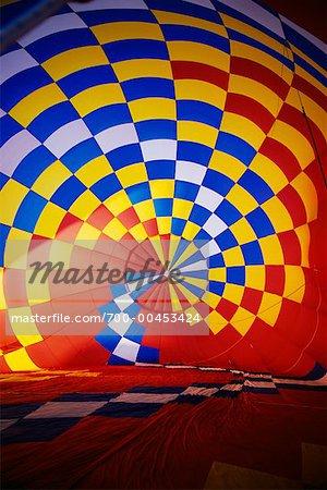 Interior of Hot-Air Balloon
