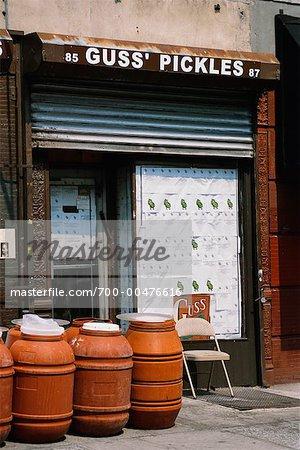 Pickle Store, New York City, New York, USA