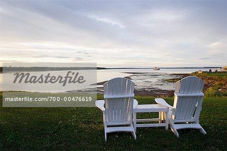Looking Out Over Bay, Shediac, New Brunswick, Canada