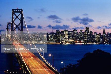 Oakland Bay Bridge, San Francisco, California, USA