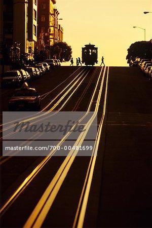 Cable Car, San Francisco, California, USA