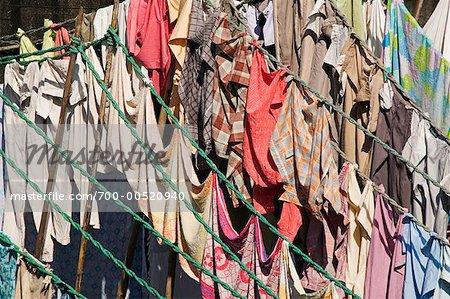 Dhobi Ghat Traditional Laundry, Mumbai, India