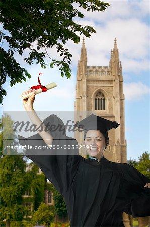Graduate Cheering, University Of Toronto, Toronto, Ontario, Canada