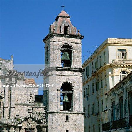 Bell Tower, Catedral de la Habana, Havana, Cuba