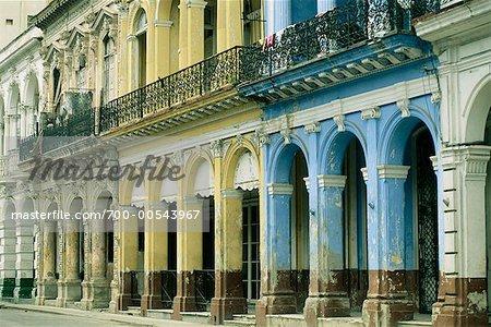 Old Building, Havana, Cuba