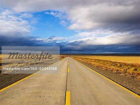 Road, Magallanes, Patagonia, Chile
