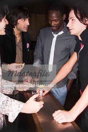 Men at Nightclub