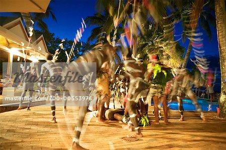 Traditional Dance At Iririki Island Resort, Port Vila, Efate, Vanuatu