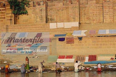 Laundry, Varanasi, Uttar Pradesh, India