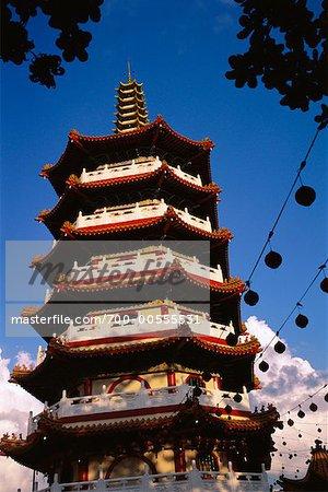 Pagoda, Sibu, Sarwak, Borneo, Malaysia