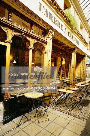 Exterior of Cafe, Paris, France